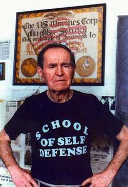 Charlie Nelson, master of Self Defense