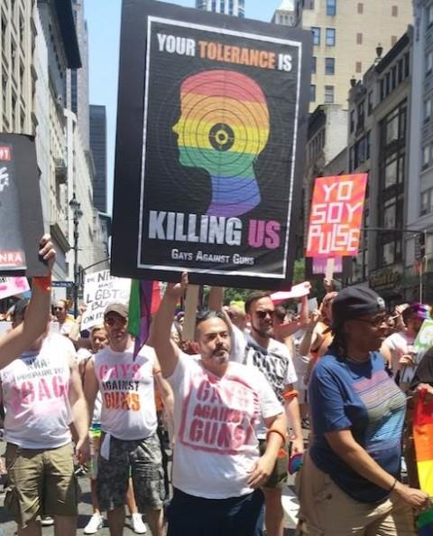 'Gays against guns' miss target…