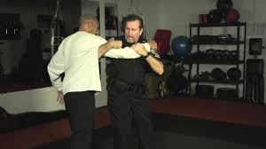 Detective Landry Teaching Police Takedown Techniques
