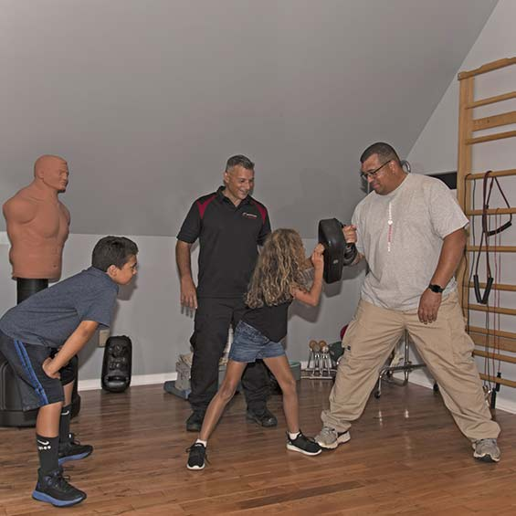 Family Safe Self Defense Training Course