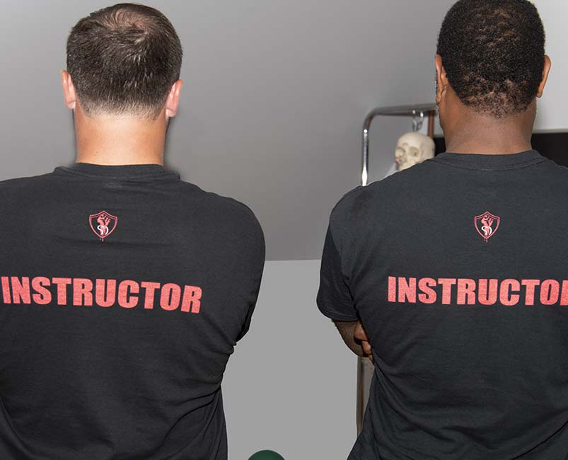 Instructors at The Self Defense Co.